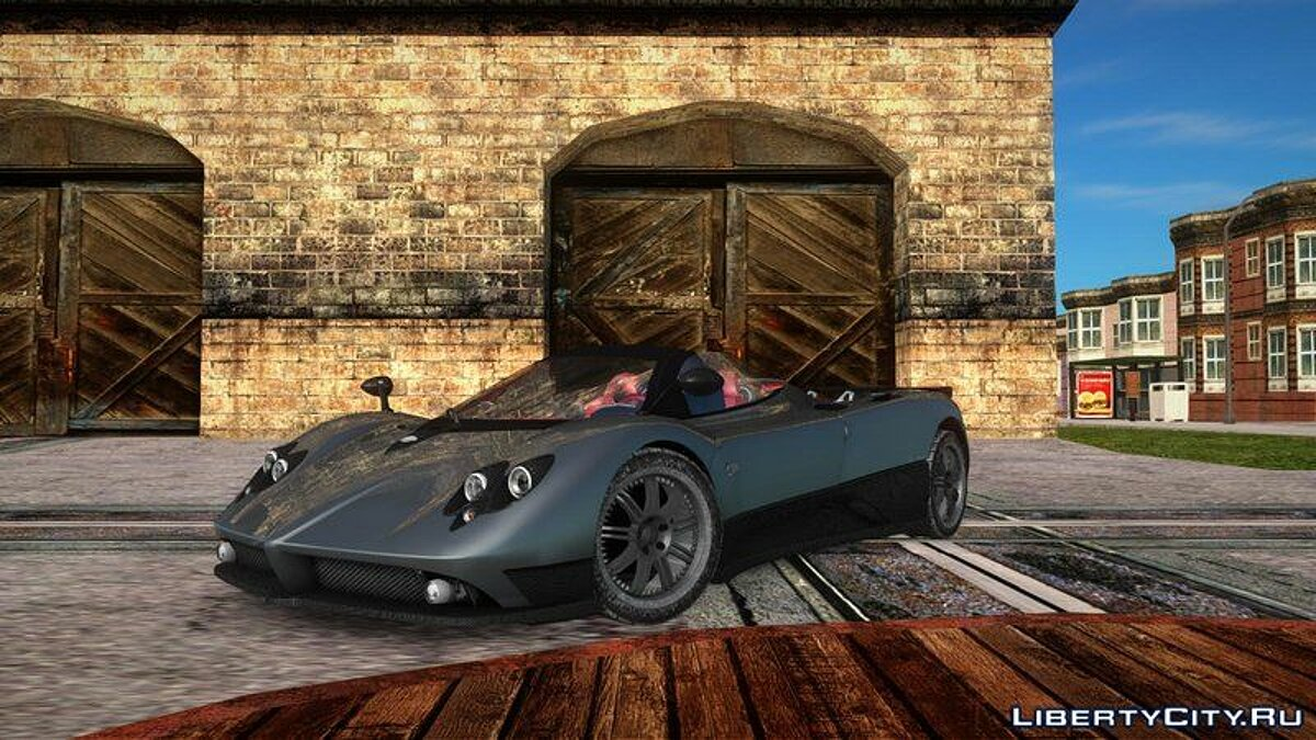 Pagani car Pagani zonda f for GTA San Andreas
