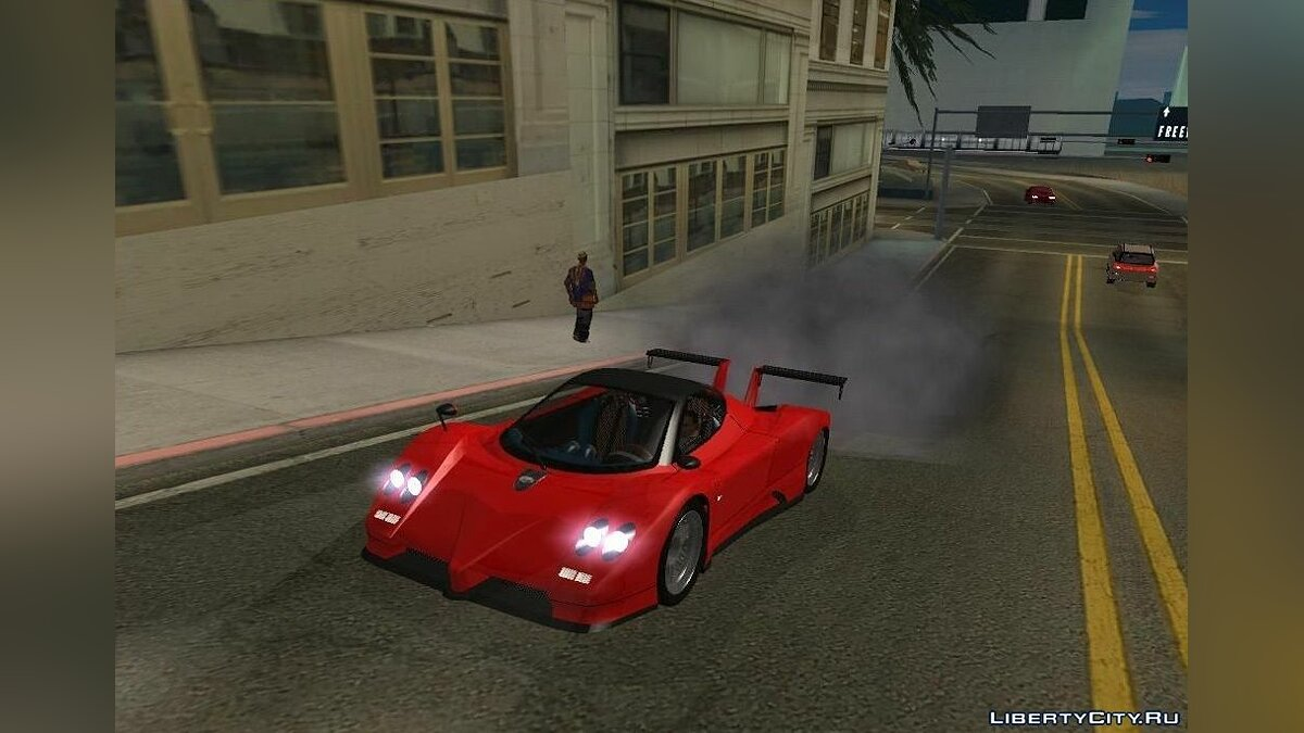 Pagani car Pagani Zonda EX-R for GTA San Andreas