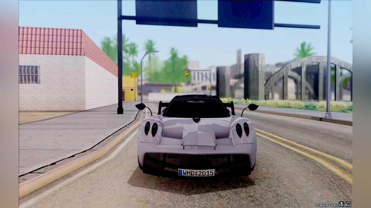 Pagani car Pagani Huayra SPBG 1.2 V4 for GTA San Andreas