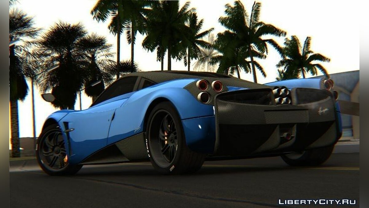Pagani car Pagani Huayra for GTA San Andreas