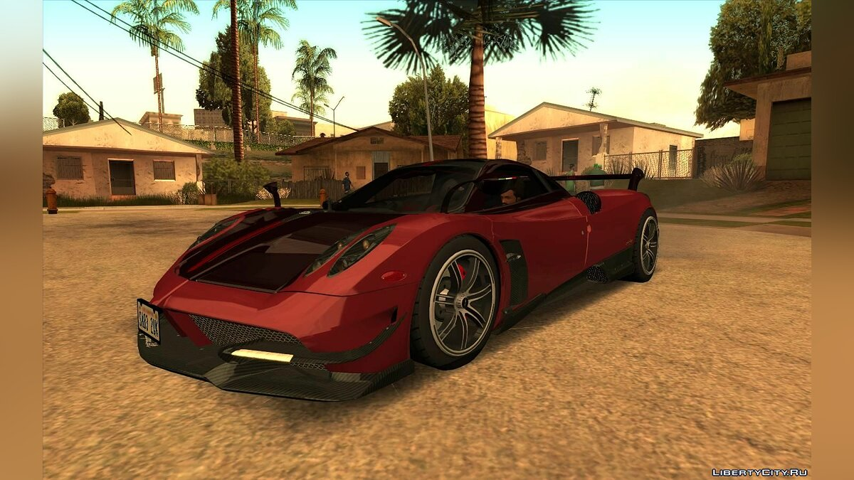Pagani car 2016 Pagani Huayra BC for GTA San Andreas
