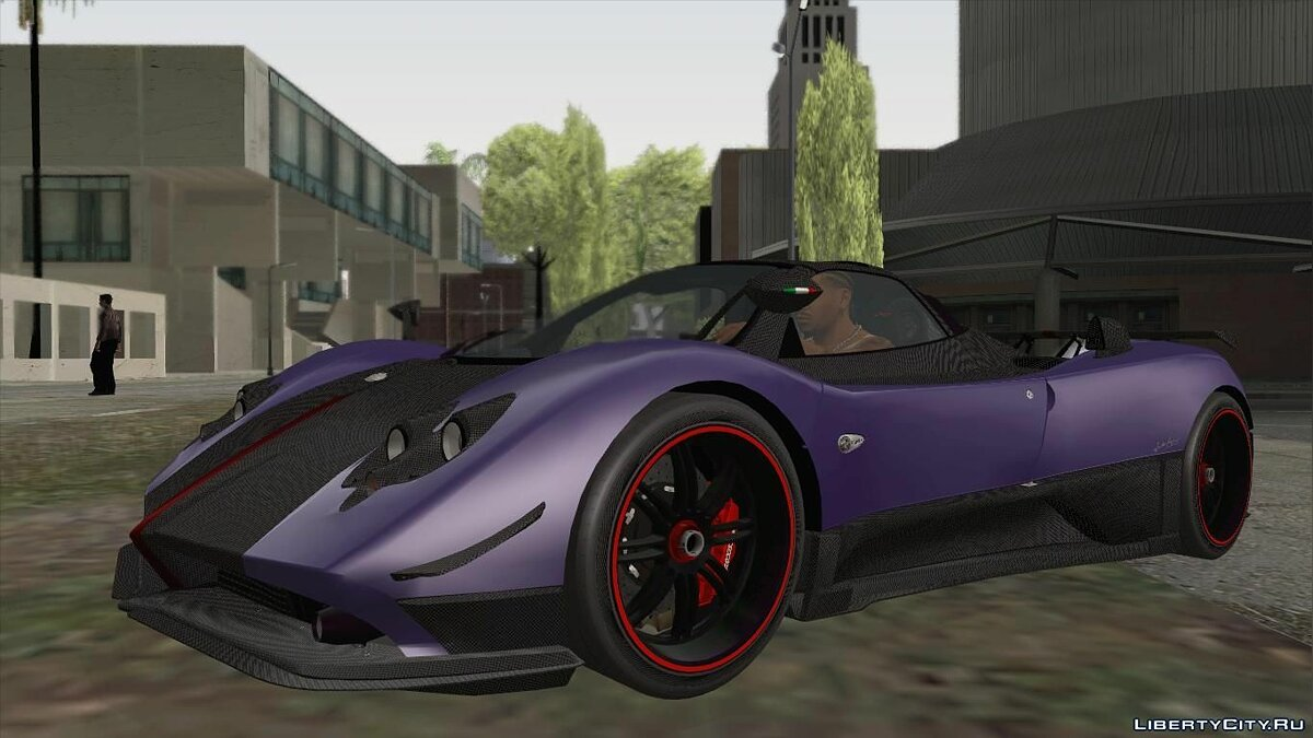 Pagani car 2009 Pagani Zonda Cinque Roadster for GTA San Andreas