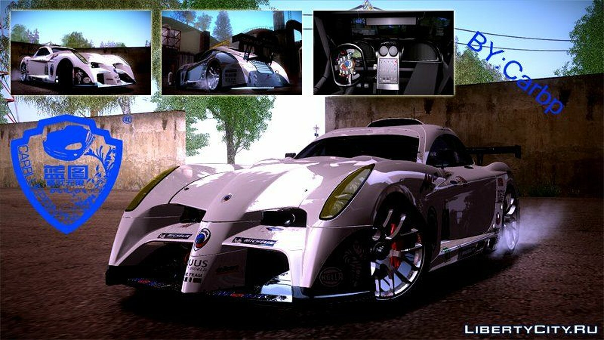 Panoz car 2011 Panoz Abruzzi Le Mans V1.0 for GTA San Andreas