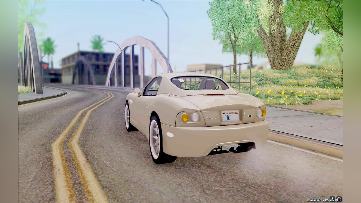 Panoz car Panoz Esperante R-wheels version for GTA San Andreas