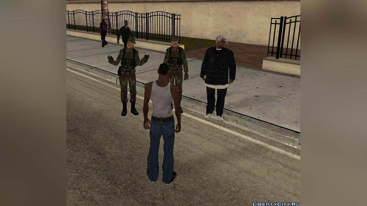 New San Andreas for GTA San Andreas