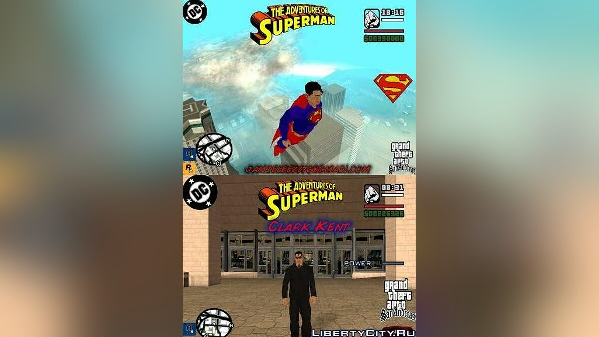 Superman Beta v1.0 for GTA San Andreas - Картинка #1