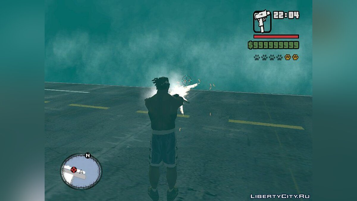 Mod Increased SMG Power and Lethality for GTA San Andreas
