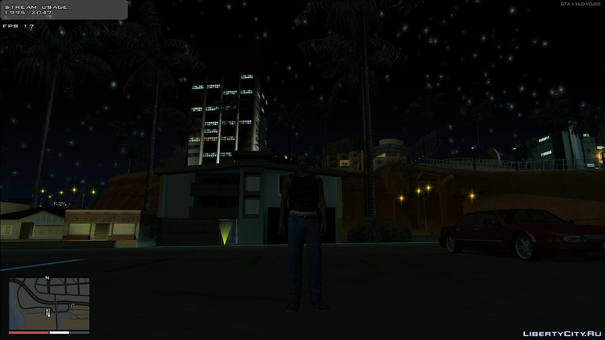 Mod Timecyc Dark Nights (24h TimeCycle) for GTA San Andreas