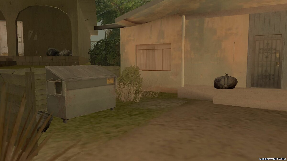 Mod Mapping on Grove Street for GTA San Andreas