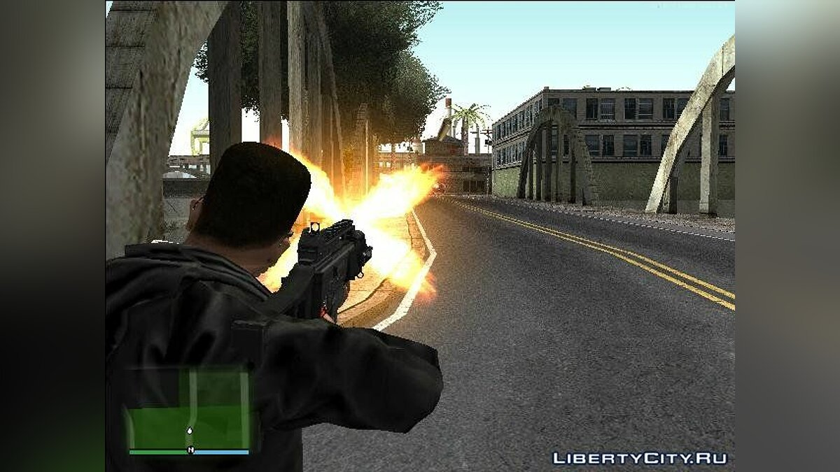 Mod Real parameters for weapons for GTA San Andreas