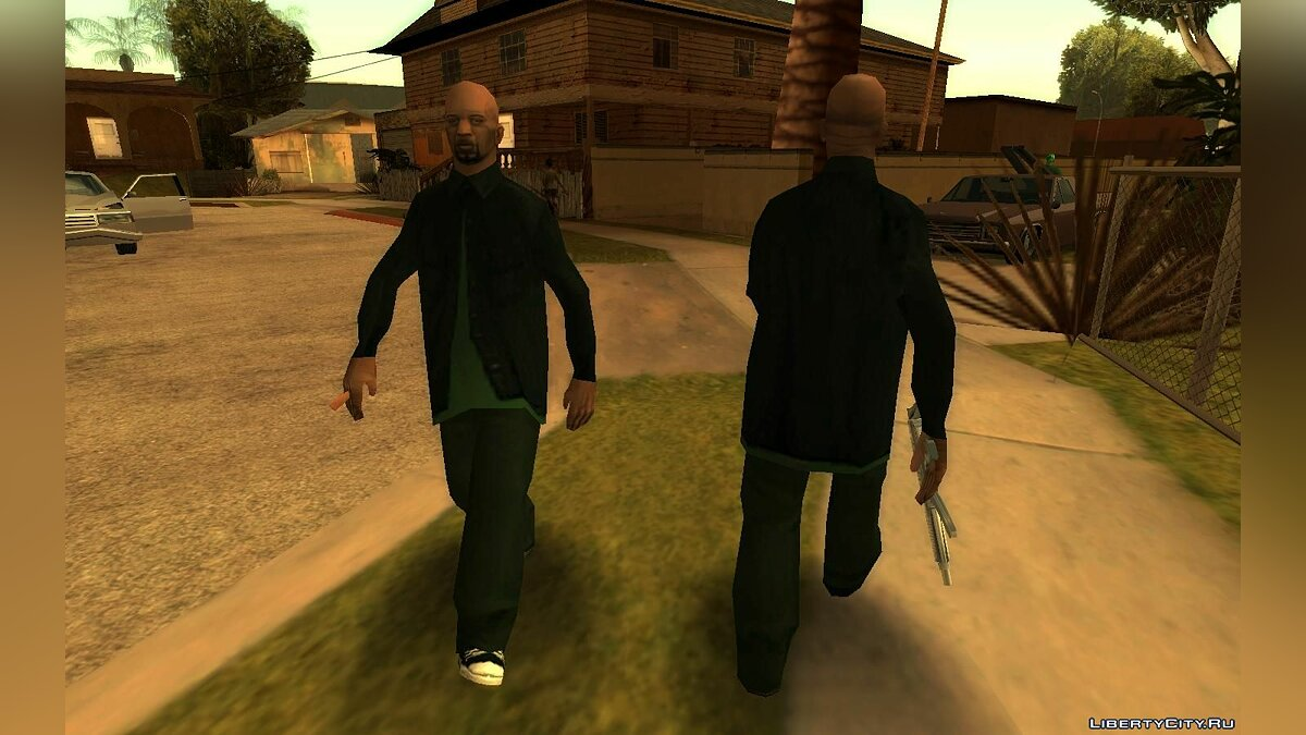 Mod Beta Gangsters (Fam4 and Fam5) for GTA San Andreas