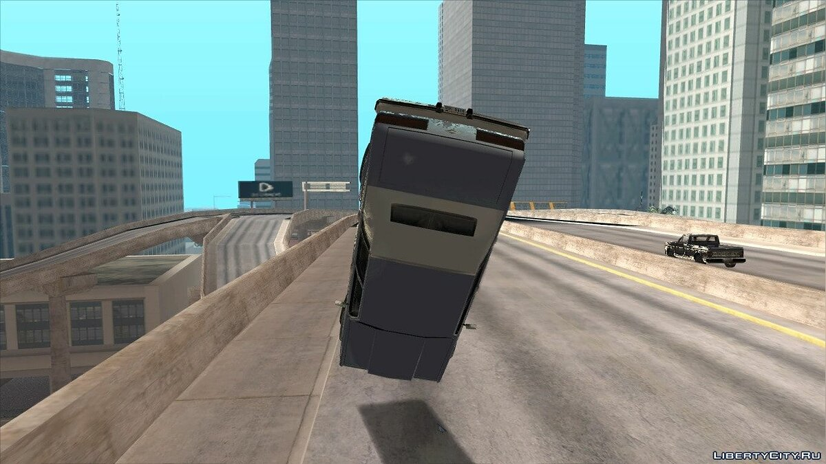 Mod Improved Fixed Vehicle Accident Physics for GTA San Andreas