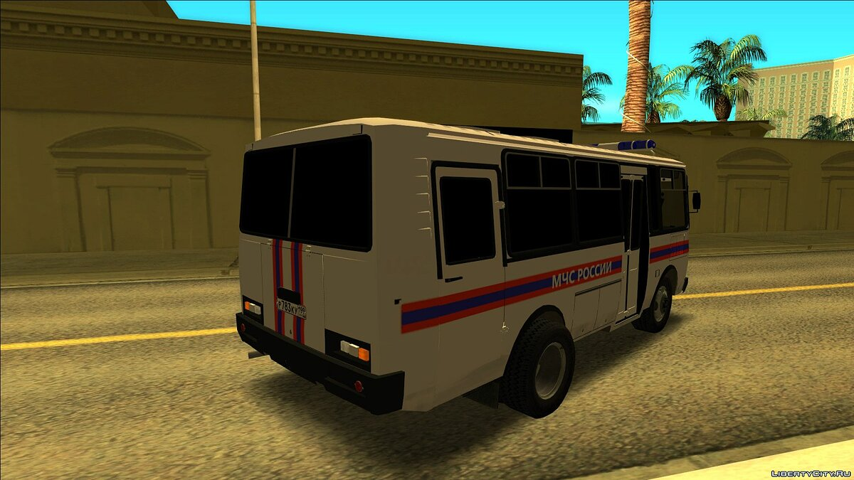 PAZ car PAZ EMERCOM of Russia for GTA San Andreas