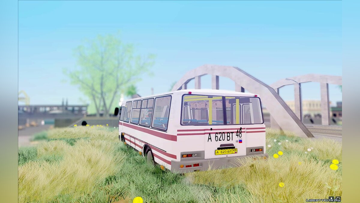 PAZ car PAZ 32054 for GTA San Andreas