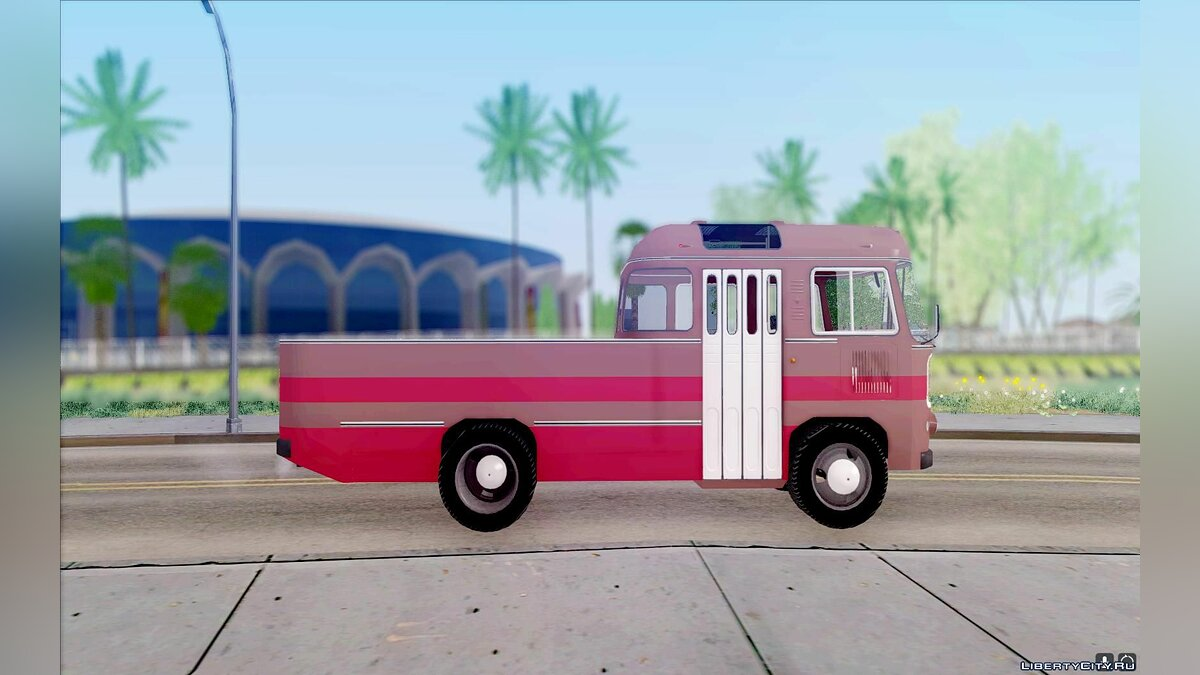 PAZ car PAZ 672.60 Open for GTA San Andreas