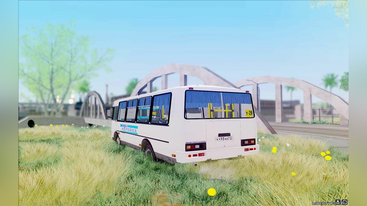 PAZ car PAZ 3205 Dzerzhinsk for GTA San Andreas