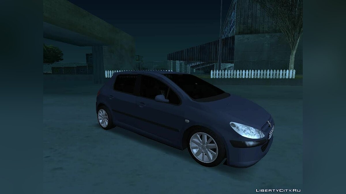 Peugeot car Peugeot 307 for GTA San Andreas