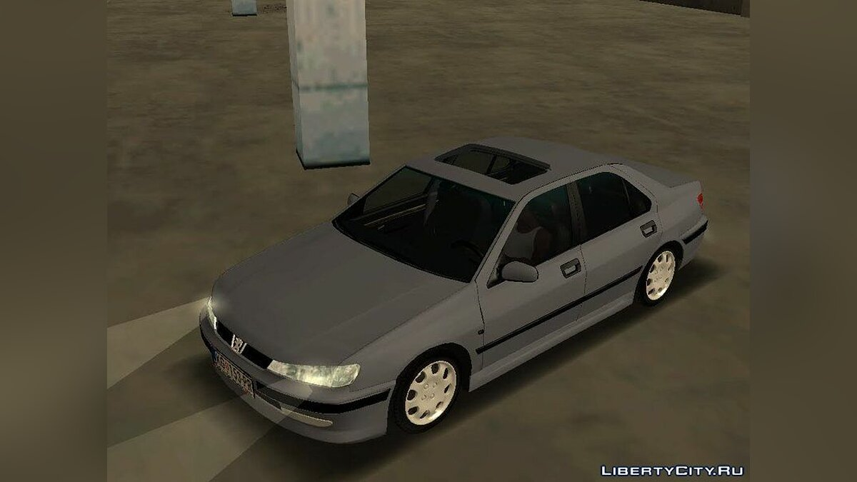 Peugeot car Peugeot 406 Stock for GTA San Andreas