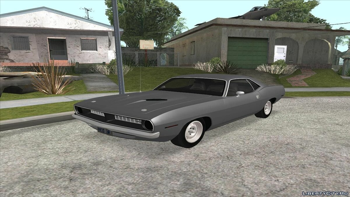 Plymouth car Plymouth Barracuda 440 IVF + ADB for GTA San Andreas