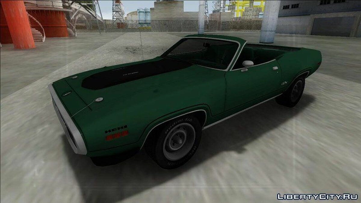 Plymouth car 1972 Plymouth GTX Cabrio for GTA San Andreas