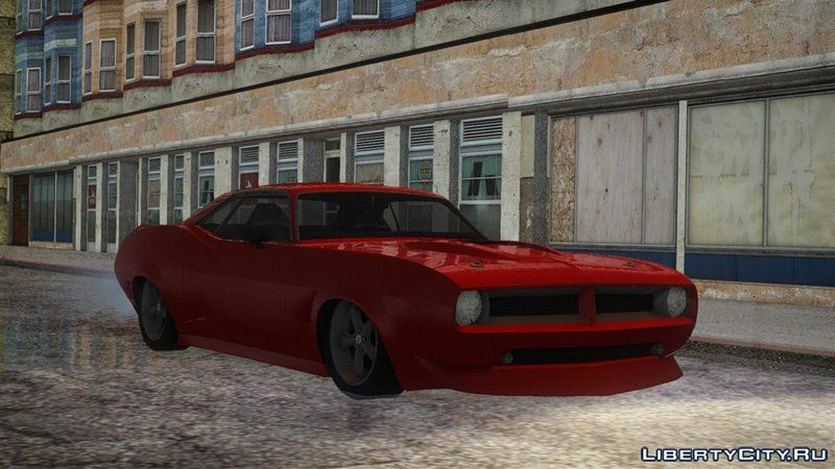 Plymouth car Plymouth hemi cuda for GTA San Andreas