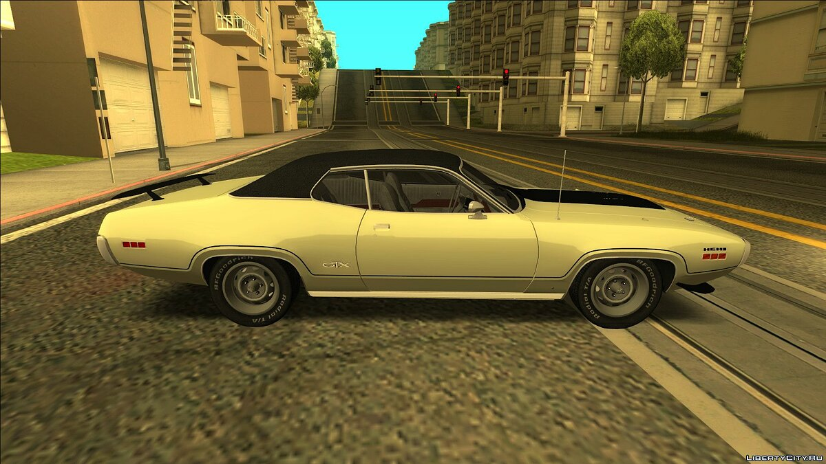Plymouth car Plymouth GTX 426 1971 Hemi for GTA San Andreas