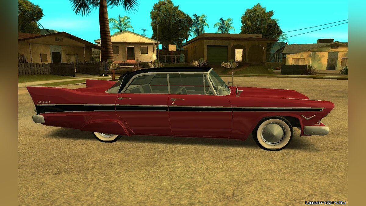 Plymouth car 1957 Plymouth Belvedere Sedan (Christine Style) for GTA San Andreas