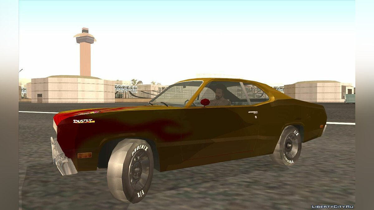 Plymouth car Snake Hot Wheels Turbo Racing for GTA San Andreas
