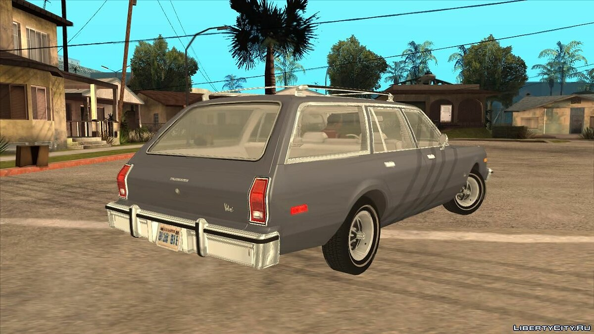 Plymouth car Plymouth Volare Wagon 1976 for GTA San Andreas