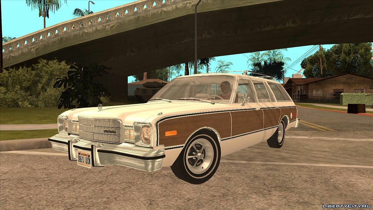 Plymouth car Plymouth Volare Wagon 1976 Wood for GTA San Andreas