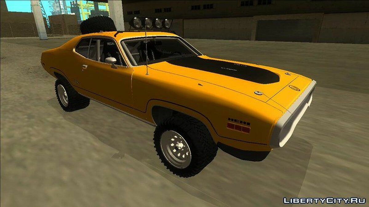 Plymouth car 1972 Plymouth GTX Rusty Rebel for GTA San Andreas