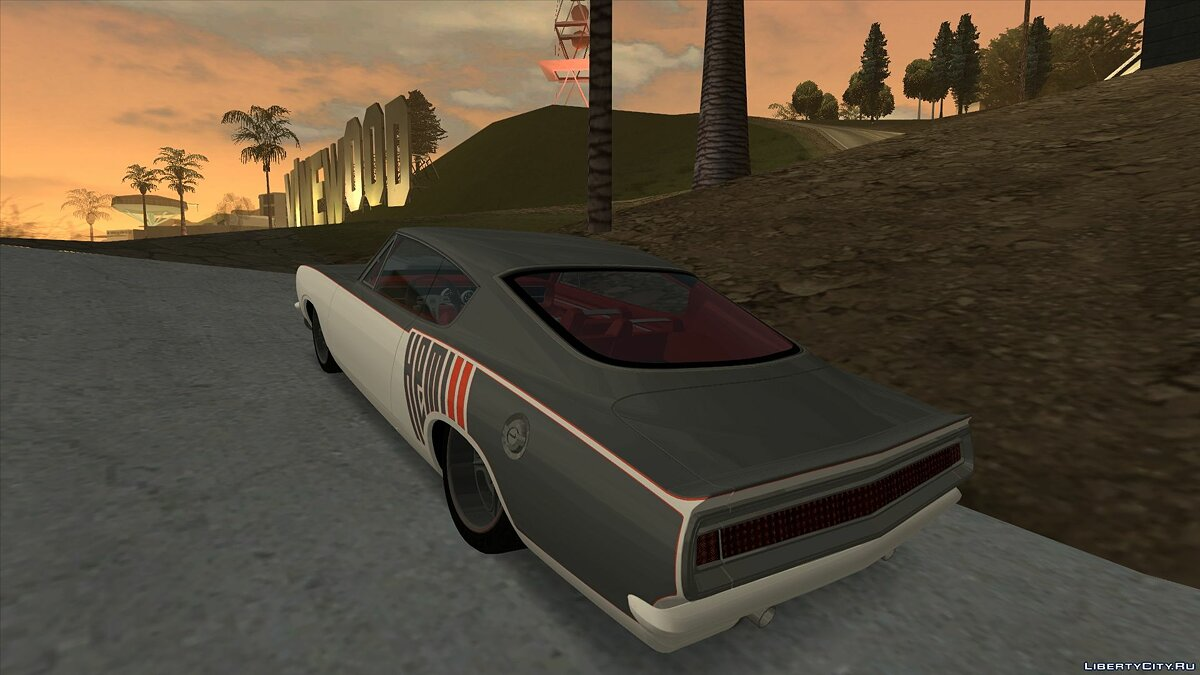 Plymouth car Plymouth Formula S Barracuda for GTA San Andreas