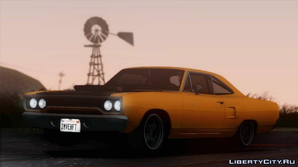 Plymouth car 1970 Plymouth Road Runner Fast & Furious 7 Edition for GTA San Andreas
