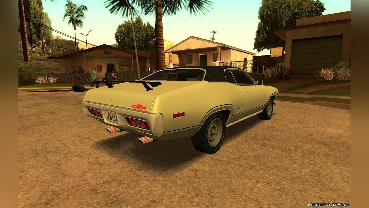 Plymouth car Pontiac GTX 426 1971 Hemi for GTA San Andreas