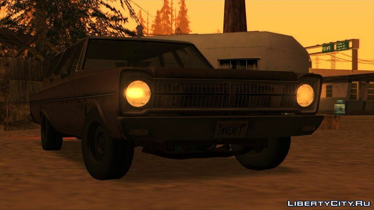 Plymouth car Plymouth Belvedere Station Wagon 1965 for GTA San Andreas