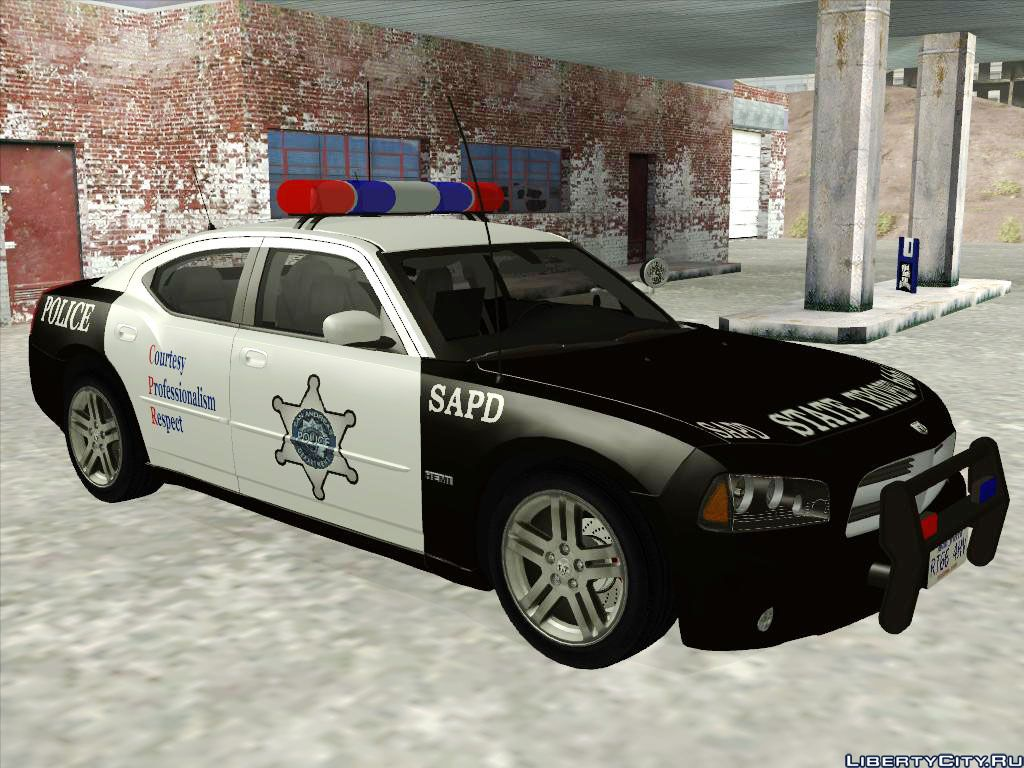 Dodge Charger Rt Police For Gta San Andreas 1949 R T