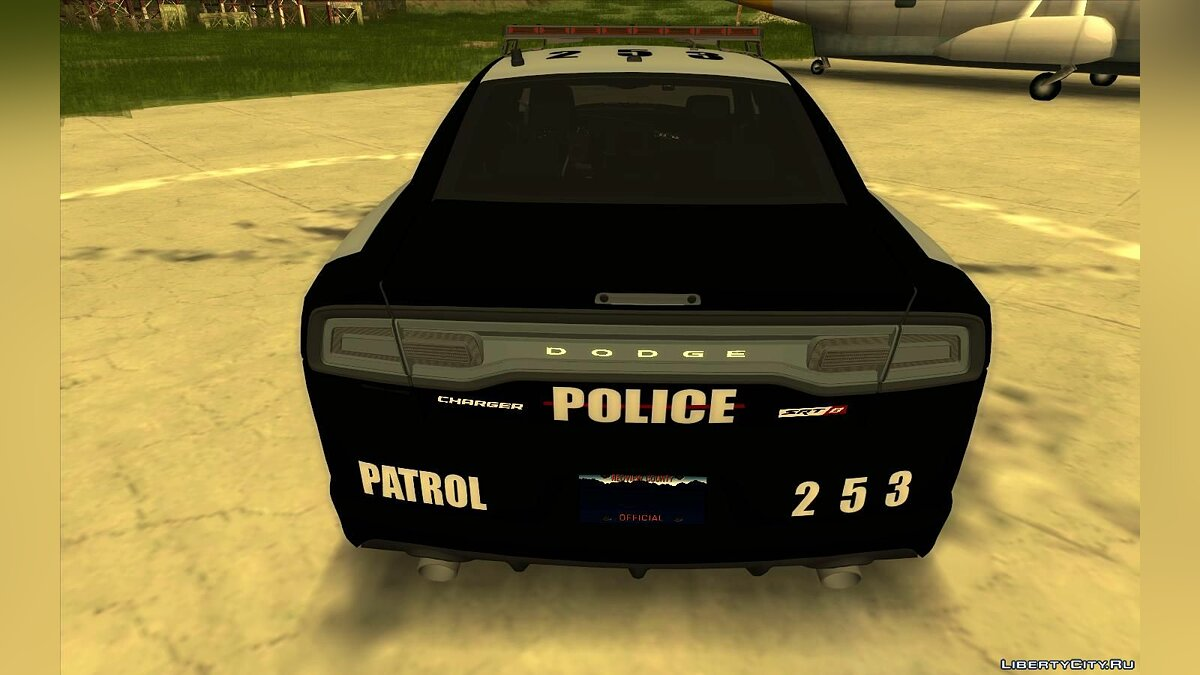 Police car Dodge Charger SRT8 - Police for GTA San Andreas