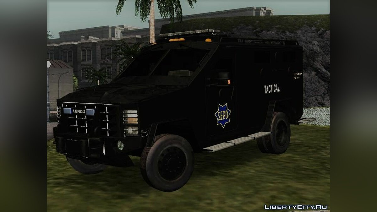 Police car Tactical SFPD unit for GTA San Andreas