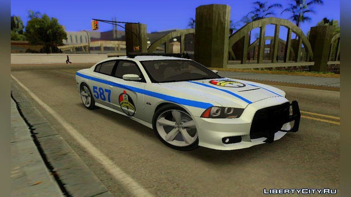 Police car Dodge Charger SRT8 2012 Iraqi Police for GTA San Andreas