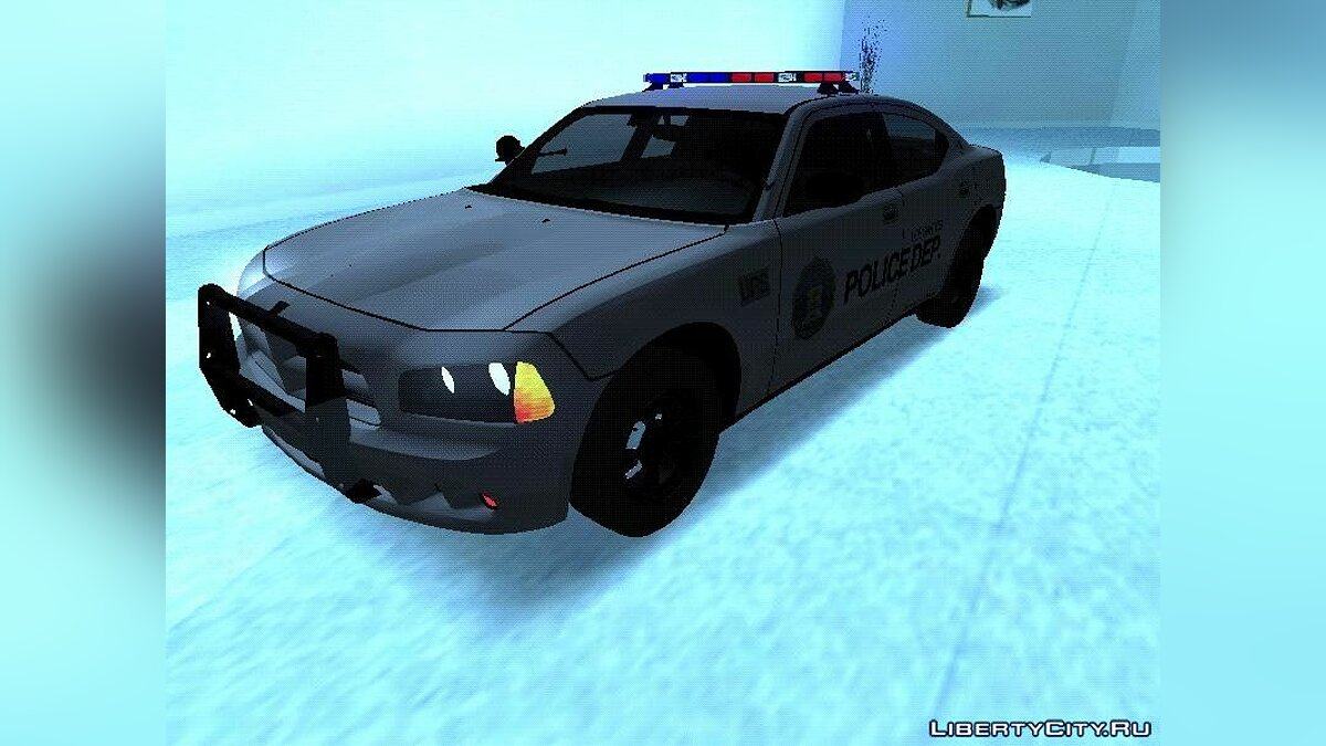 Police car Dodge Charger Police Car 2020 for GTA San Andreas