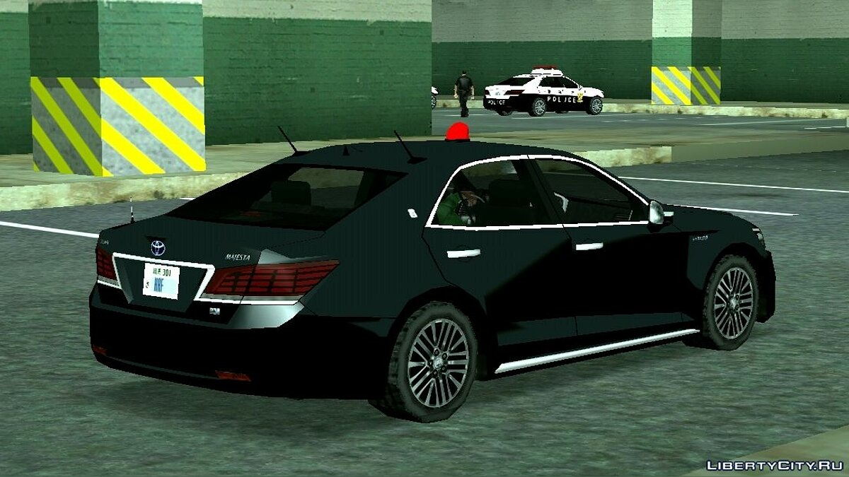 Police car 2014 Toyota Crown Majesta Unmarked Patrol Car for GTA San Andreas