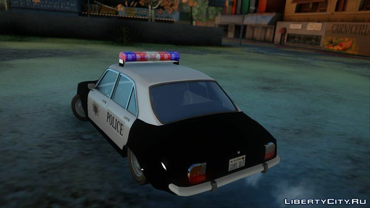 Police car Peugeot 504 Police for GTA San Andreas
