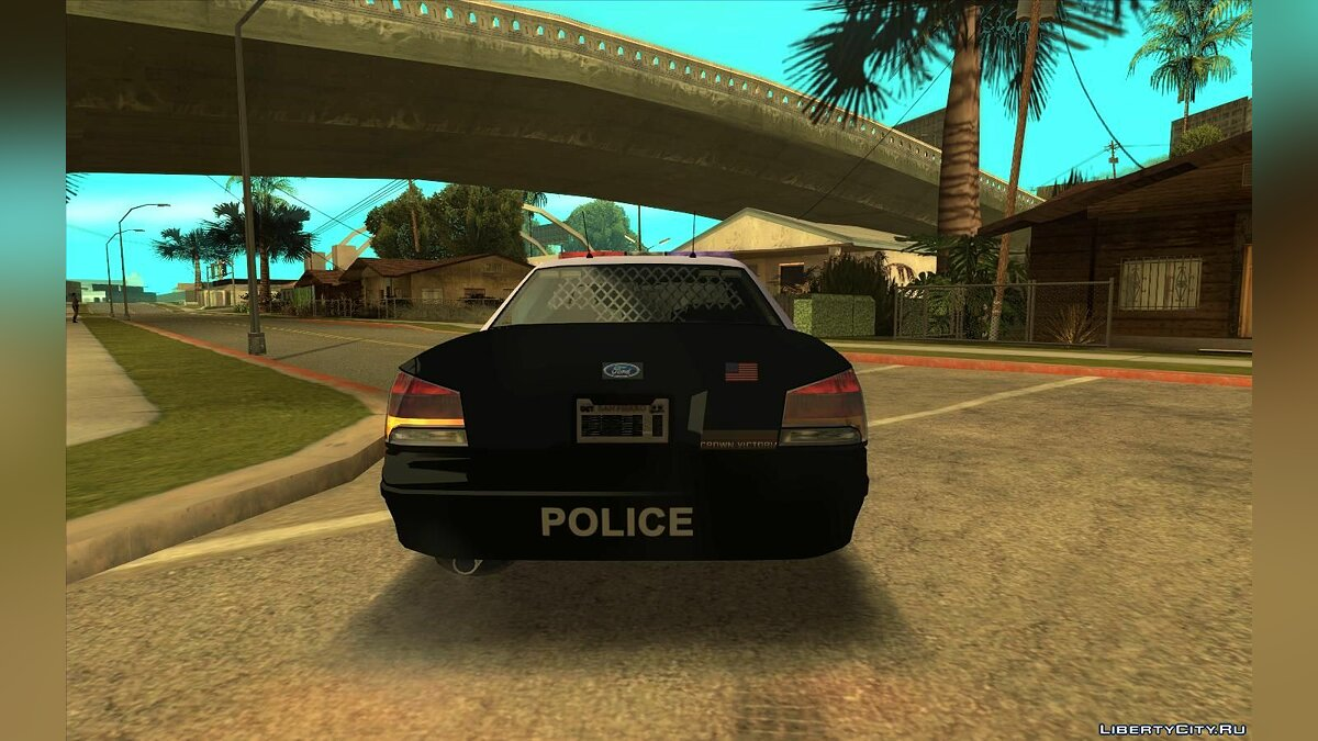 Police car 2005 Ford Crown Victoria (Stanier II Style) Police Pack for GTA San Andreas