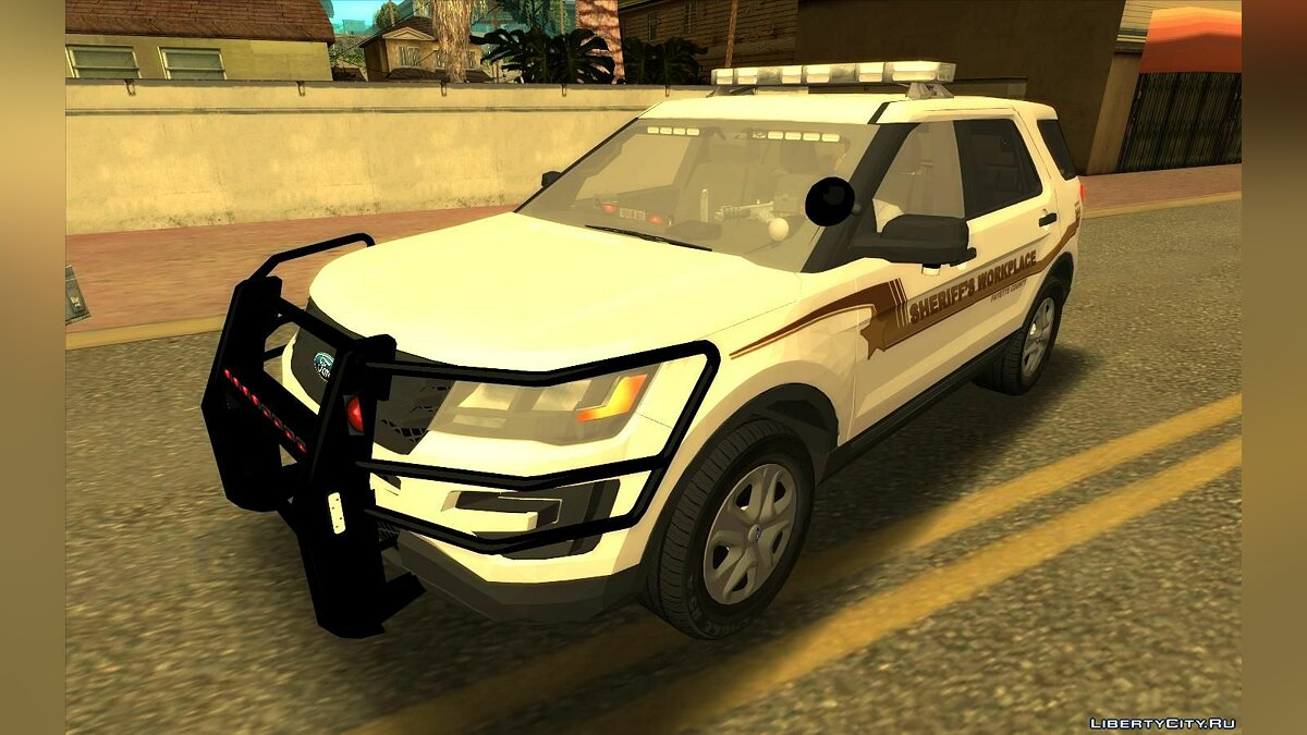Police car 2017 Ford Explorer Fayette County Sheriff's Workplace for GTA San Andreas