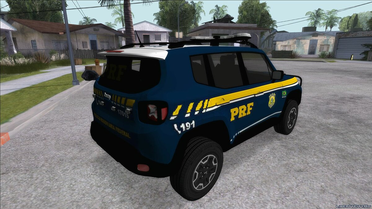 Police car Jeep Renegade of PRF for GTA San Andreas