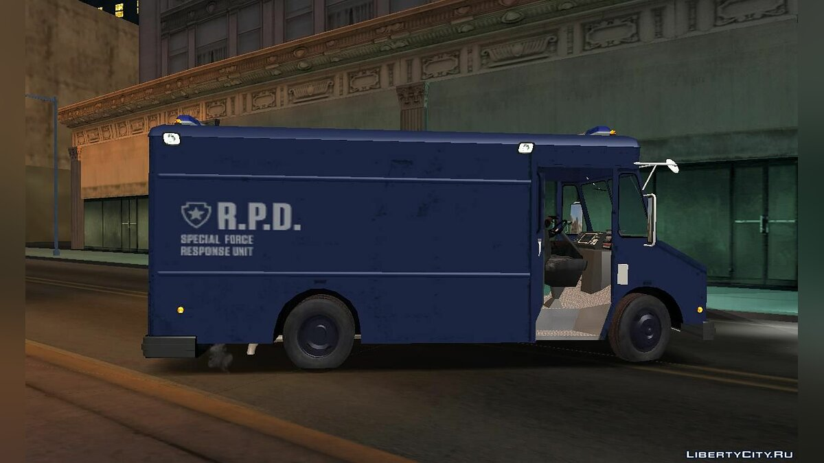 Police car Special forces van from the game