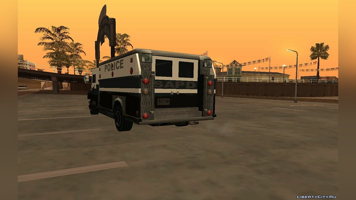 Police car SecuriForcer Final for GTA San Andreas