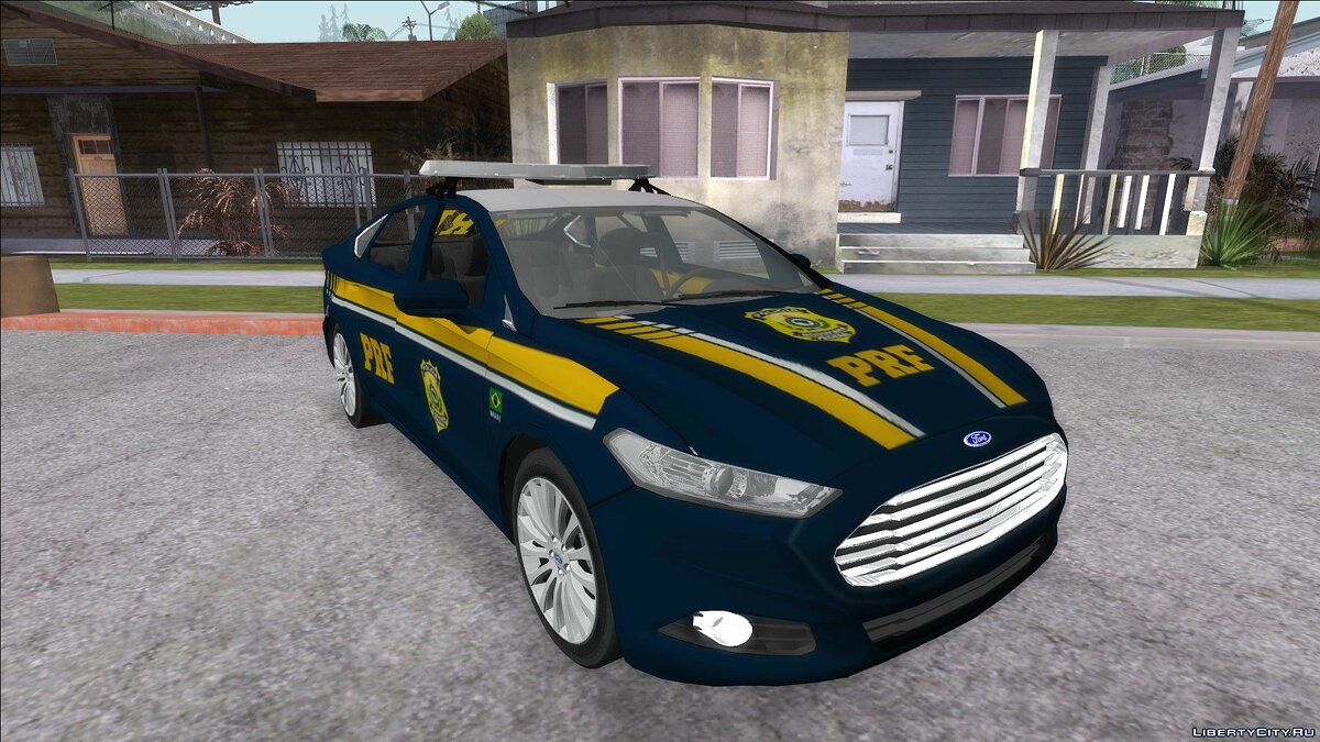 Police car Ford Fusion of PRF for GTA San Andreas