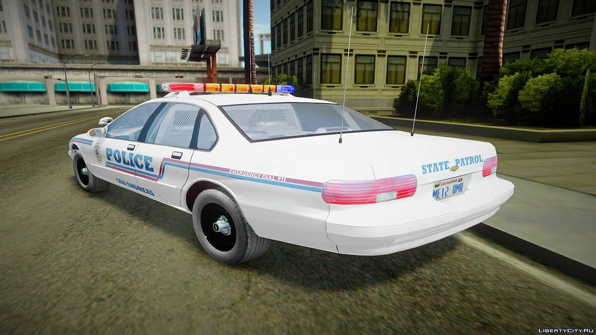 Police car 1995 Chevrolet Caprice San Andreas State Police for GTA San Andreas