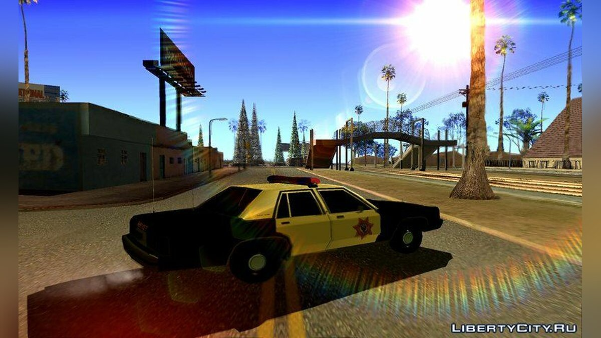 Police car Sheriff's car from Resident Evil 2 Remake for GTA San Andreas